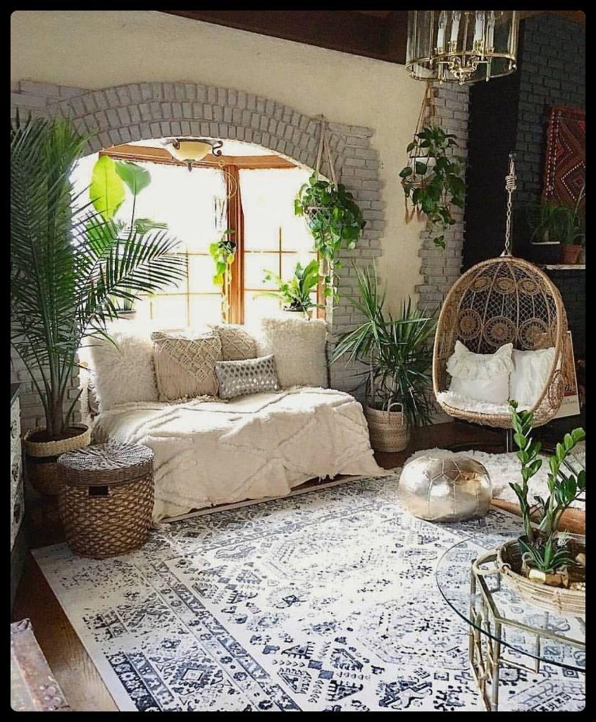 8 Bohemian Home Decoration Ideas - Deria's Choices