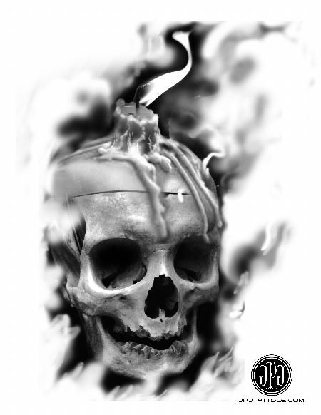jose perez jr skull candle art pinterest skull candle tattoo and tattoo designs. Black Bedroom Furniture Sets. Home Design Ideas