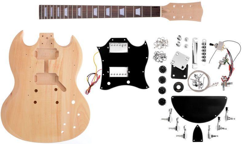 Harley Benton Electric Guitar Kit Dc Style Guitar Kits Electric Guitar Kits Guitar