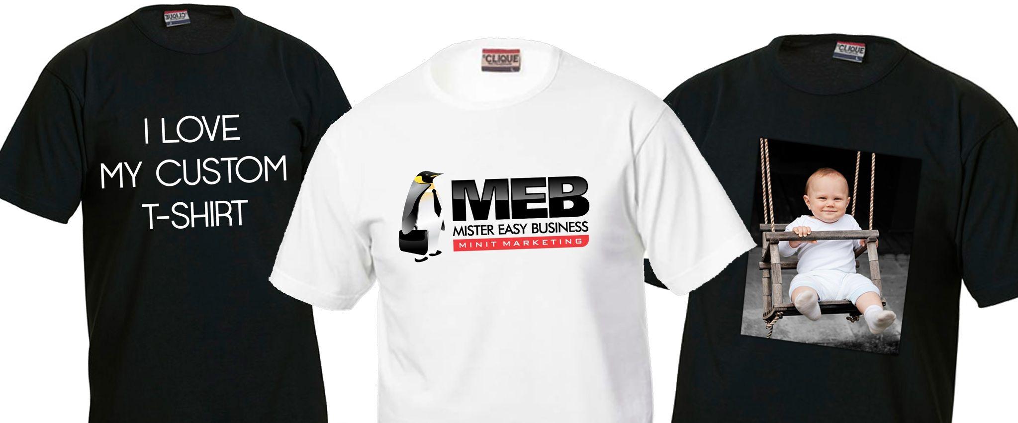 Paitapainatukset omalla kuvalla tai tekstillä, -20 % Luo oma uniikki unelmavaatteesi MEB:n paitapainopalvelun avulla. Tarjolla laaja valikoima erilaisia tekstiilejä, sekä mahdollisuus painattaa omaan paitaan. Norm. 22 €. MEB PRINT, E-TASO