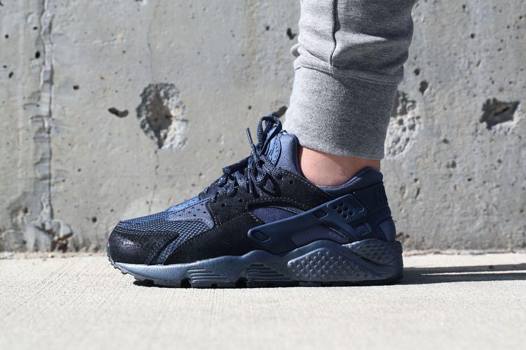 Sneakers femme - Nike air huarache premium escadron