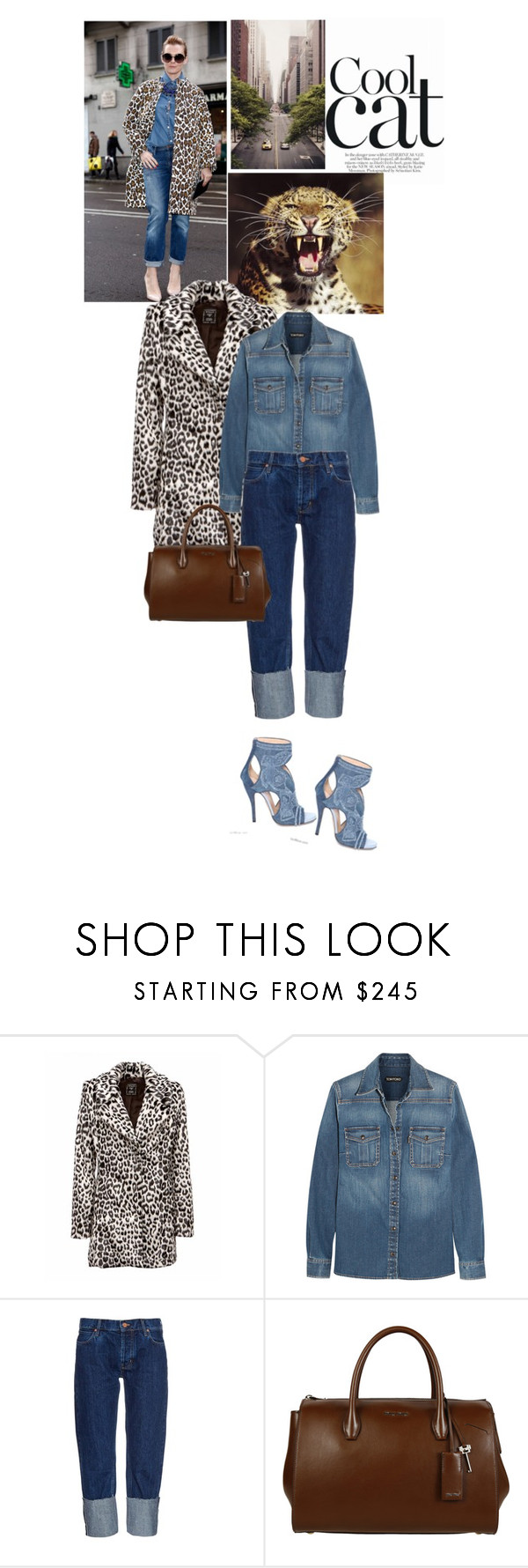 """""""Título 251"""" by drigomes ❤ liked on Polyvore featuring Calle, Tom Ford, MiH Jeans and Miu Miu"""