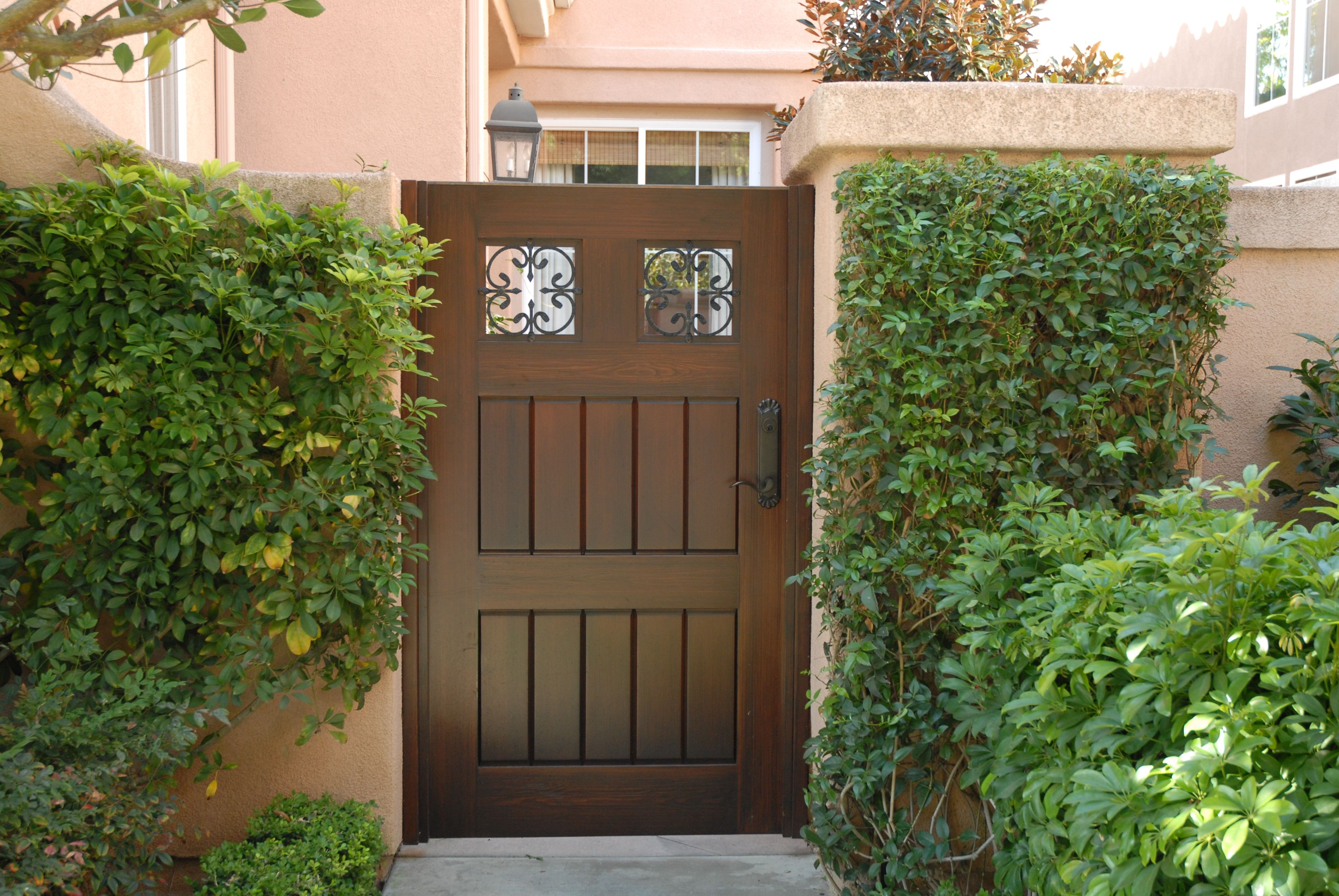 Custom Wood Gates by Garden Passages Premium Wood Gates Features ...