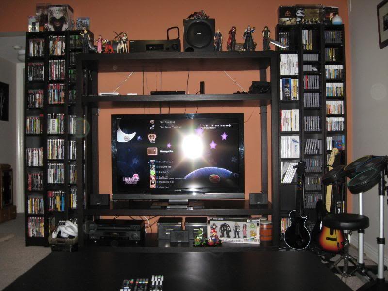 Img 0003 Jpg 800 600 Diy Entertainment Center Gaming Entertainment Center Entertaining