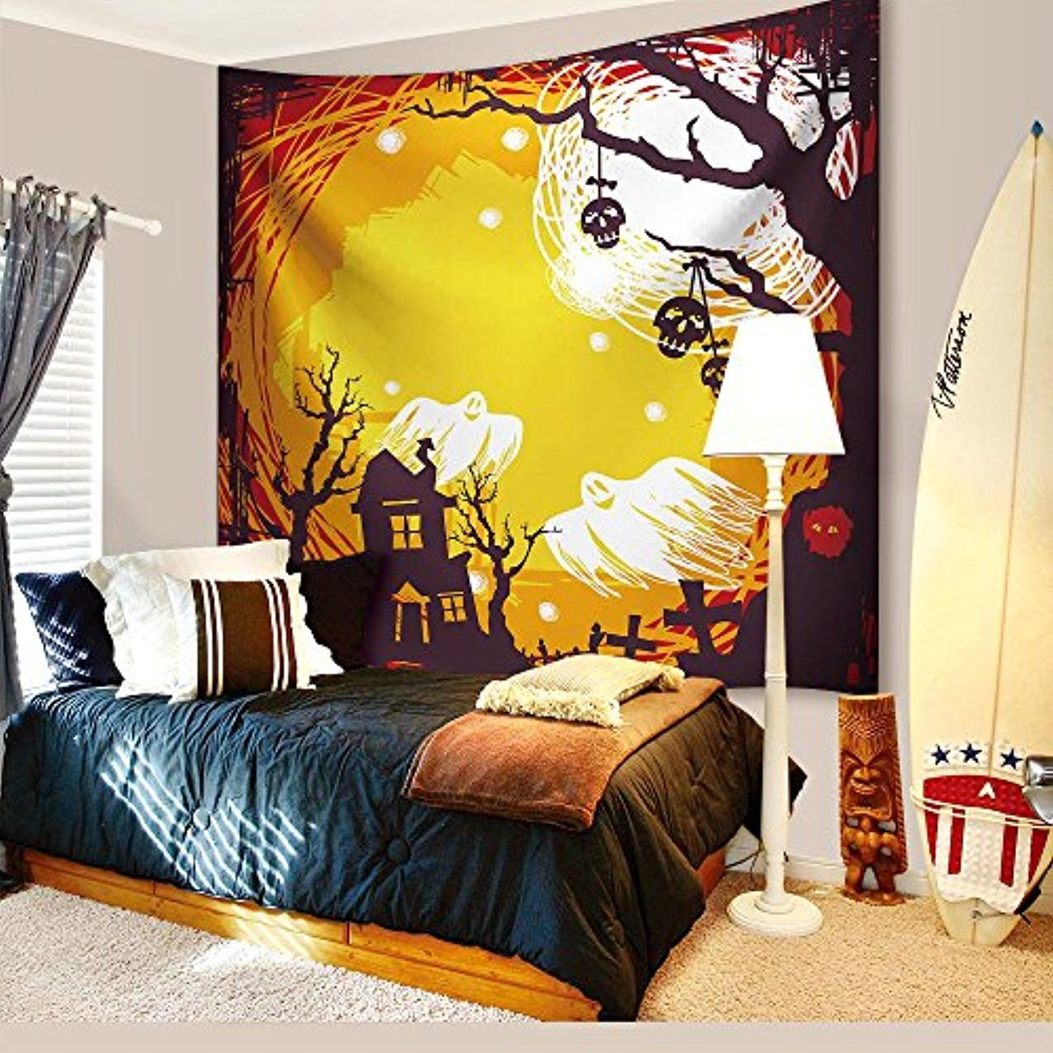 Halloween Decorations Tapestry Wall Hanging by IMEI, 3D Print ...