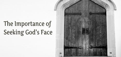 Prayer is often viewed as talking to an invisible God. Is seeking the face of God even possible? Why is it important? How do we do it?