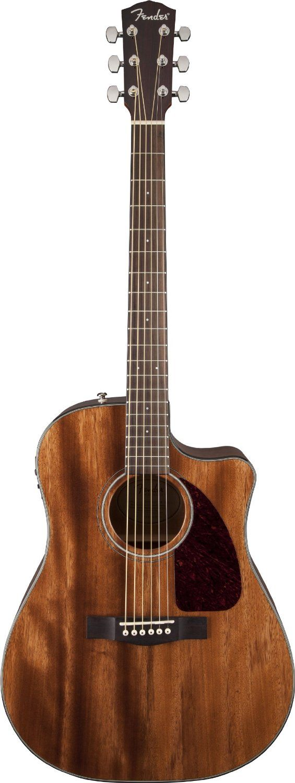 fender cd 140sce acoustic electric guitar all mahogany natural musical. Black Bedroom Furniture Sets. Home Design Ideas