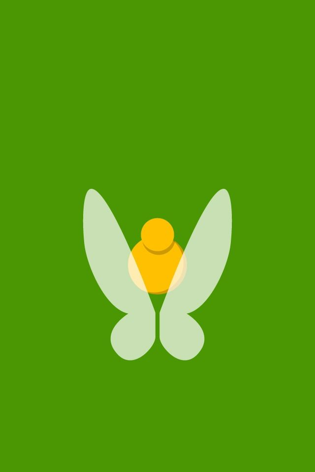 Tinkerbellcampanita tinkerbell my favorite pinterest tinkerbell find more minimalistic and disney wallpapers for your voltagebd Image collections
