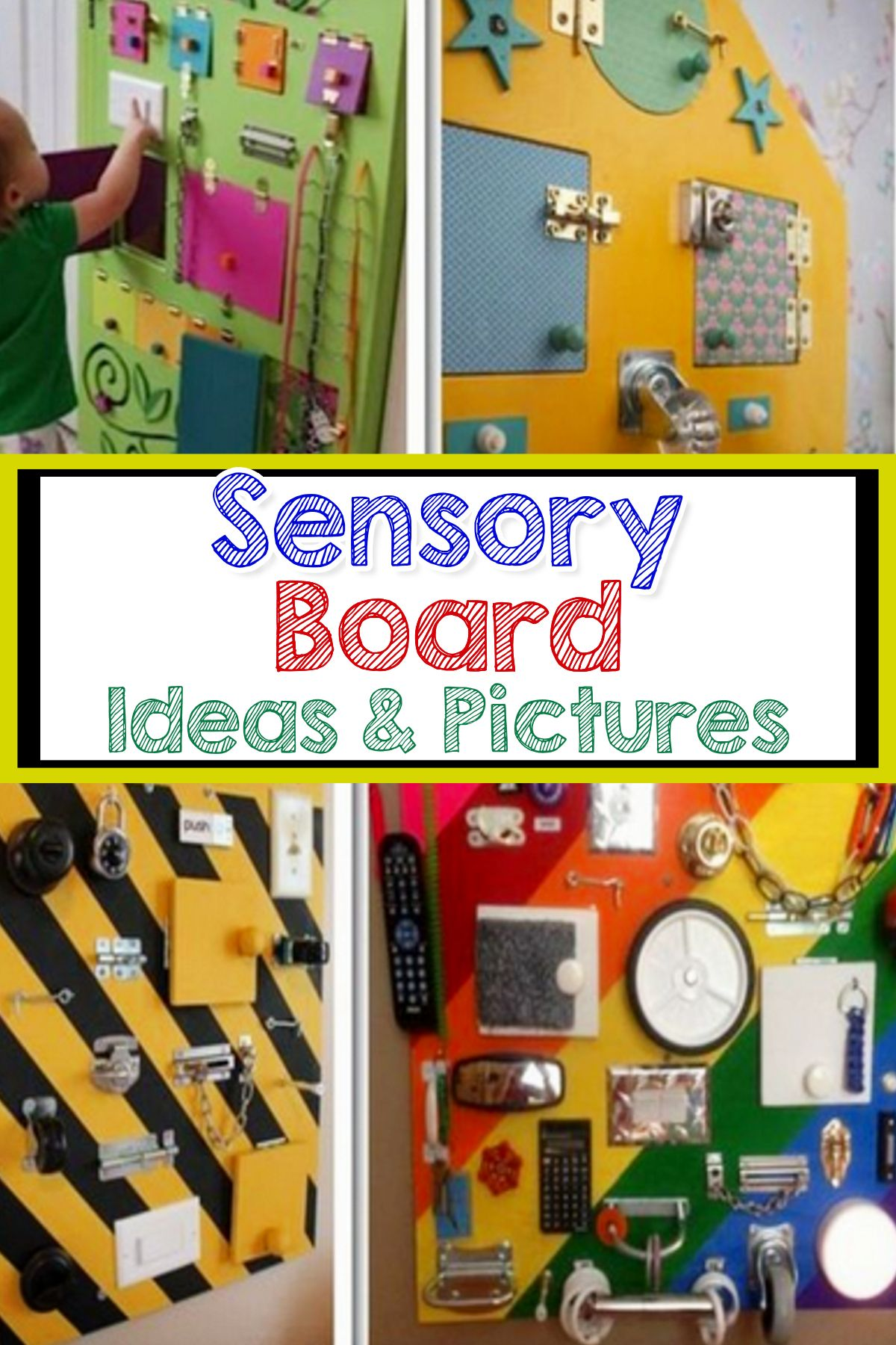 57 Sensory Board Ideas For Toddlers Easy Diy Activity Boards