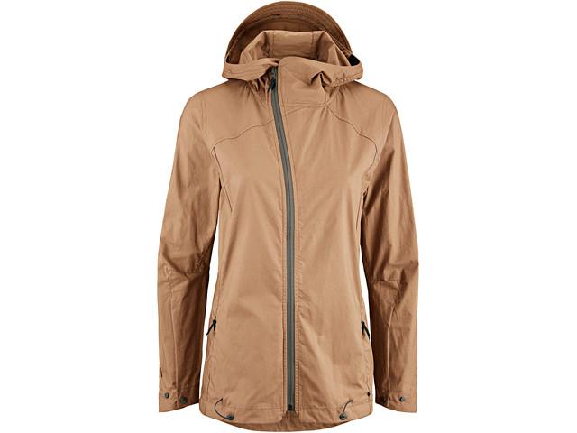 Klättermusen Loride Jacket Dame weathered wood | Jakker