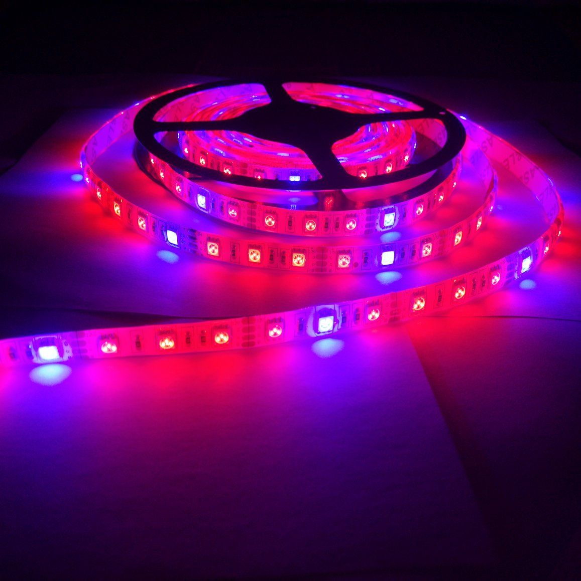 Amazon Com Toogod Full Spectrum 16 4ft 5m 5050 Waterproof Led Strip Plant Growing Light Red Blue 4 1 For Aquar Grow Lights For Plants Grow Lights Hydroponics