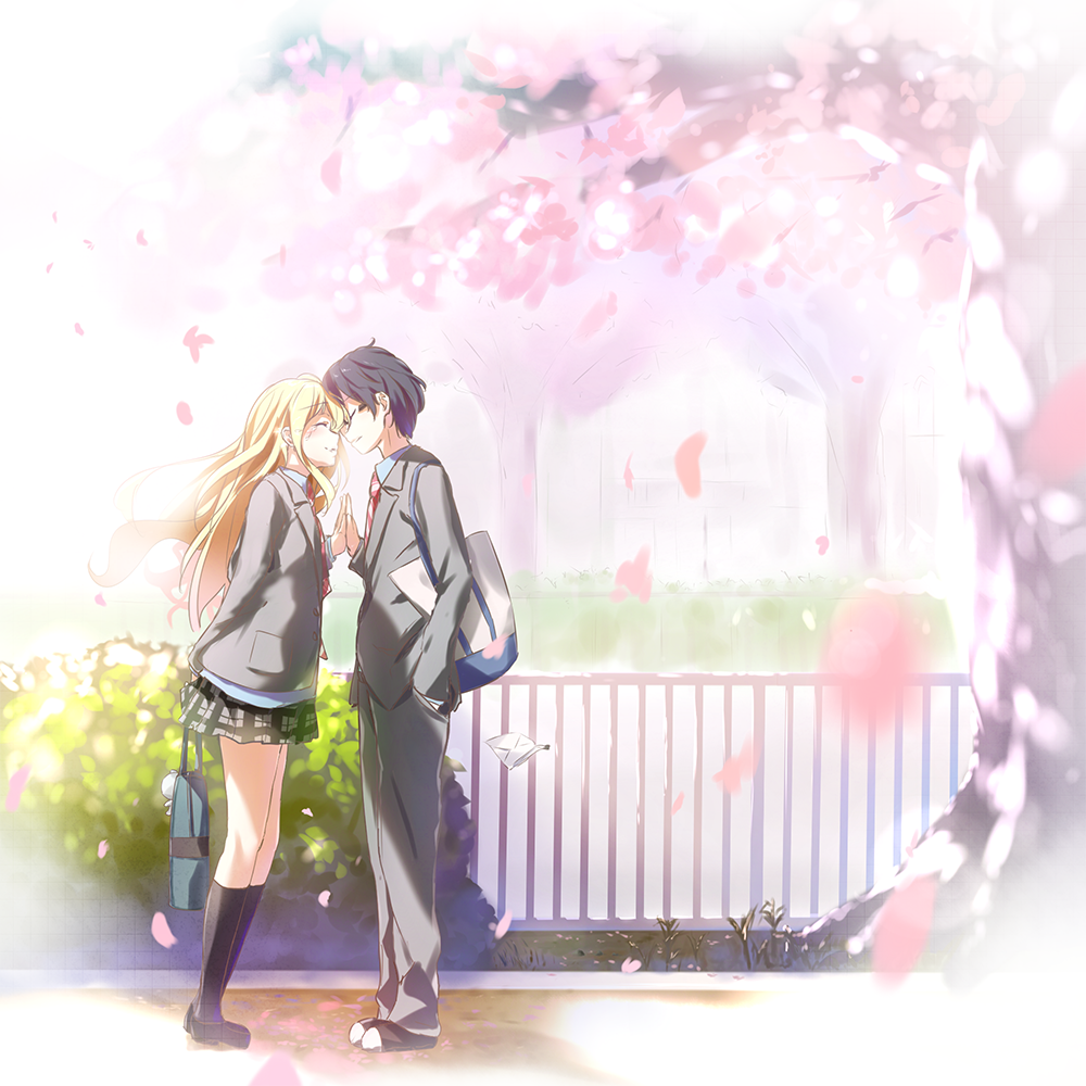 Your Lie In April This was such a good anime! It made me