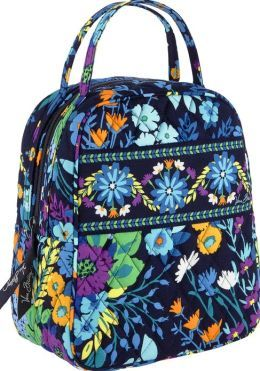 833950f6a9ce Vera Bradley Midnight Blues Lunch Bunch Tote. So cute!! This is my FAVORITE  design!