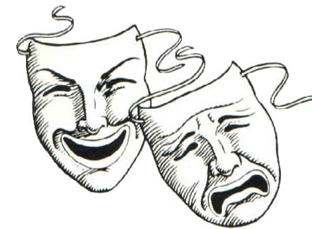 Theatre Masks Tattoo Buscar Con Google Theater Mask Tattoo Theatre Masks Comedy Tragedy Masks