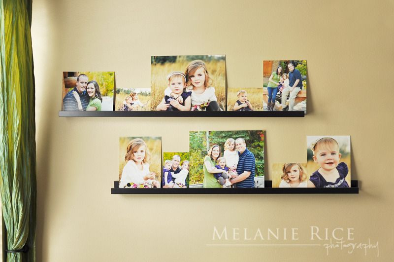 Simple and fun photo display idea! | Hang it up | Pinterest ...
