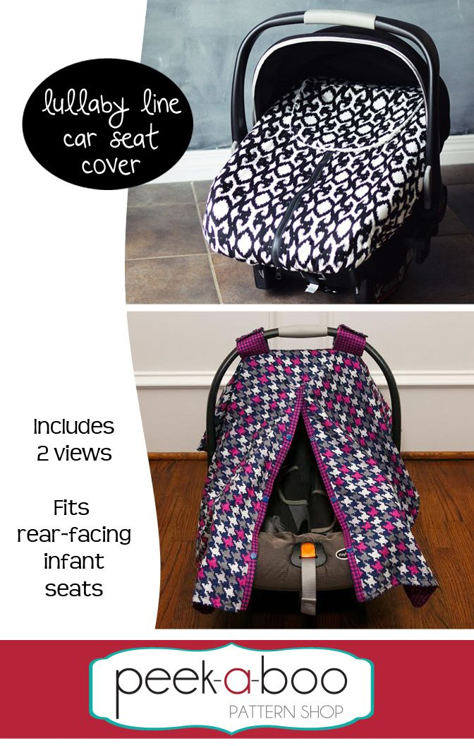 Lullaby Line Car Seat Cover Pdf Patterns Car Seat