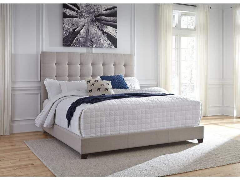 Bianca Upholstered Bed Euro Living Furniture Grey Upholstered Bed King Upholstered Bed Queen Upholstered Bed