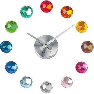 Karlsson Diy Diamond Wall Clock Multicolour Diy Clock Wall Wall Clock Clock