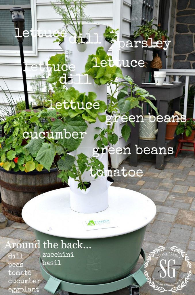 TOWER GARDENING... FUN, NUTRITIONAL AND DELICIOUS Tower