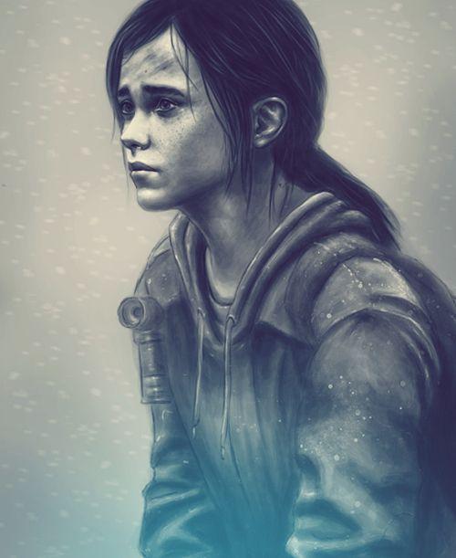 Ellie The Last of Us Remastered #TheLastOfUsRemasterizado #TheLastOfUs #Zombies #TheLastOfUsRemastered