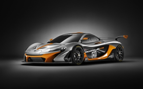 2014 McLaren P1 GTR High Res Cars sport  Poster wallpaper Huge Wide HD Vehicle s…