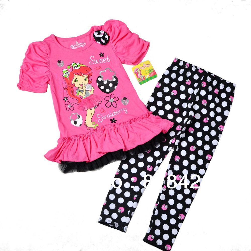 74ea93389 Strawberry Shortcake Dresses for Girls