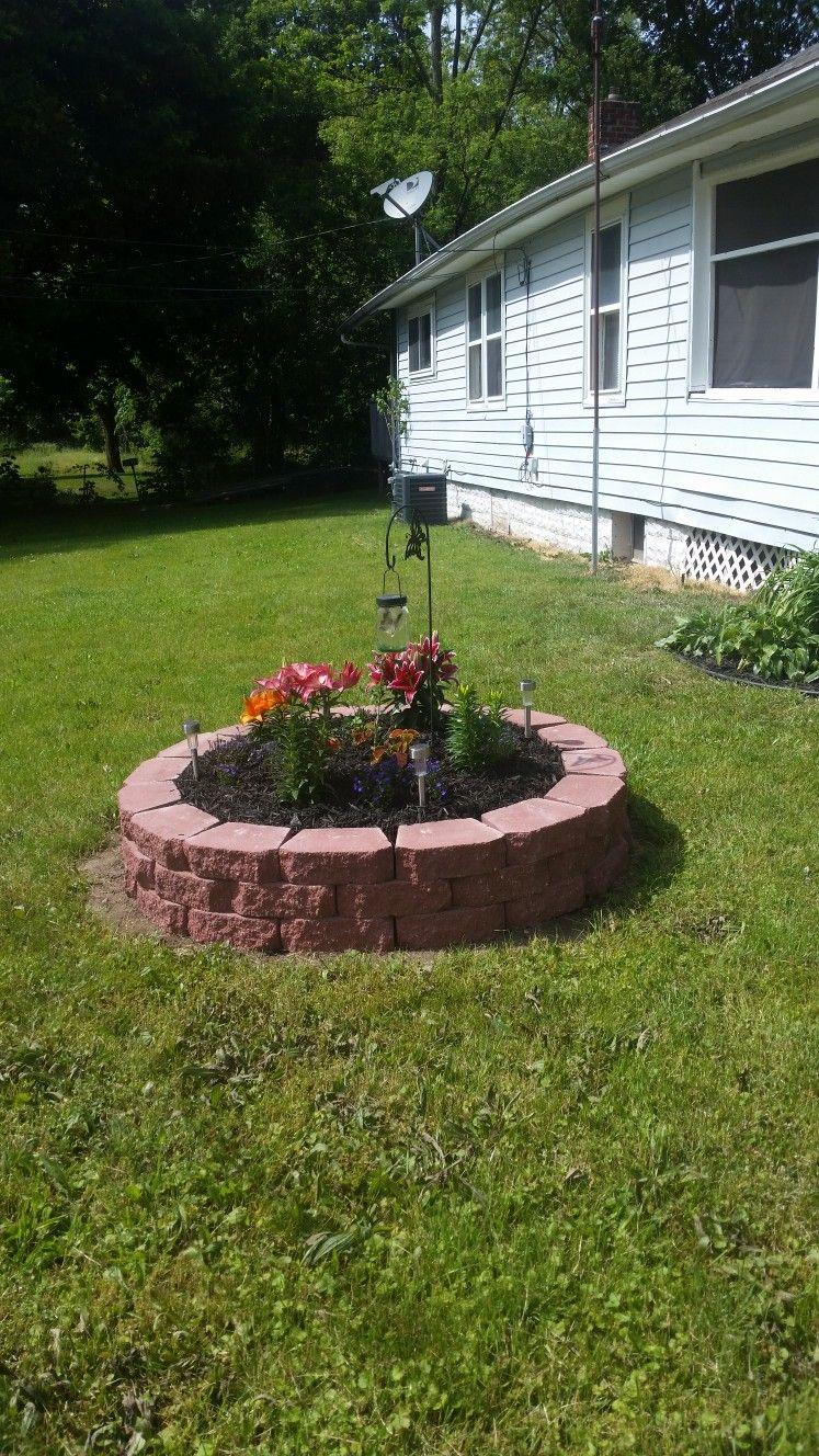 Self built flower bed Flower beds, Flowers, Plants