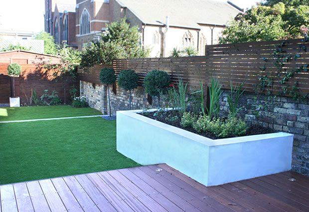 Garden Design Wandsworth: Lovely, lovely decking then lawn ...