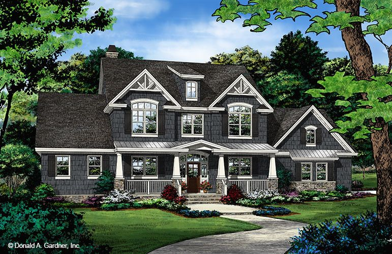 House Plan The Blarney By Donald A Gardner Architects Craftsman Style House Plans House Plans Farmhouse Craftsman House Plans