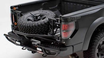 Tiregate Racerunner Tailgate Spare Tire Carrier Off Road