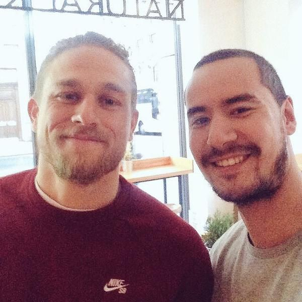april 2015 -  new hair with trainer
