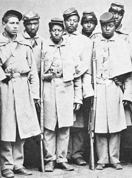 an analysis of black soldiers in the civil war In this activity students will analyze a two-page poster that the government used  to recruit recently freed slaves to fight for the union army during the civil war.