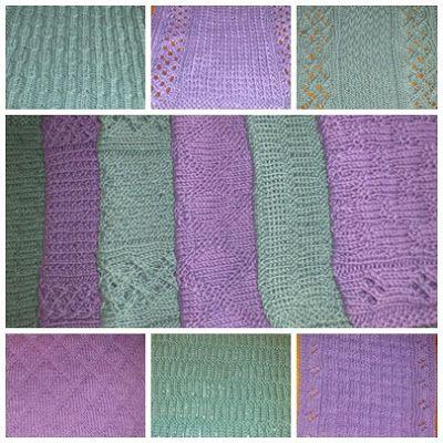 Mellom himmel og jord: 6 fine klutemønstre. Mønstrene kan sikkert brukes til andre ting også.