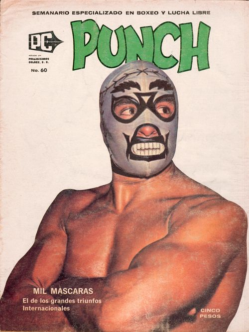 MIl Mascaras, PUNCH #60, 1975