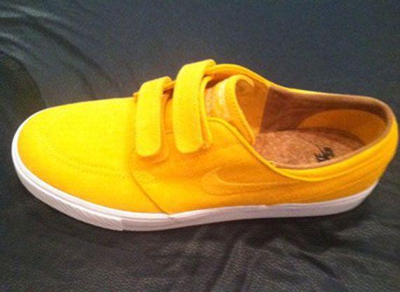 "buy popular 98c92 6a19c Nike Stefan Janoski Velcro ""Yellow Rip-Stop"""