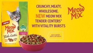 Free Sample Of Meow Mix Tender Centers And Big Heart Pet Brands