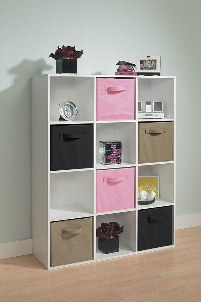 Amazon Com Closetmaid 1290 Cubeicals 12 Cube Organizer White Home