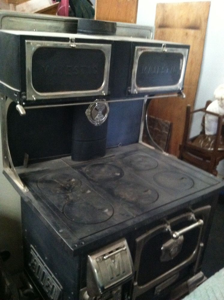 Majestic Wood Cook Stove Antique Stoves Wood Stove