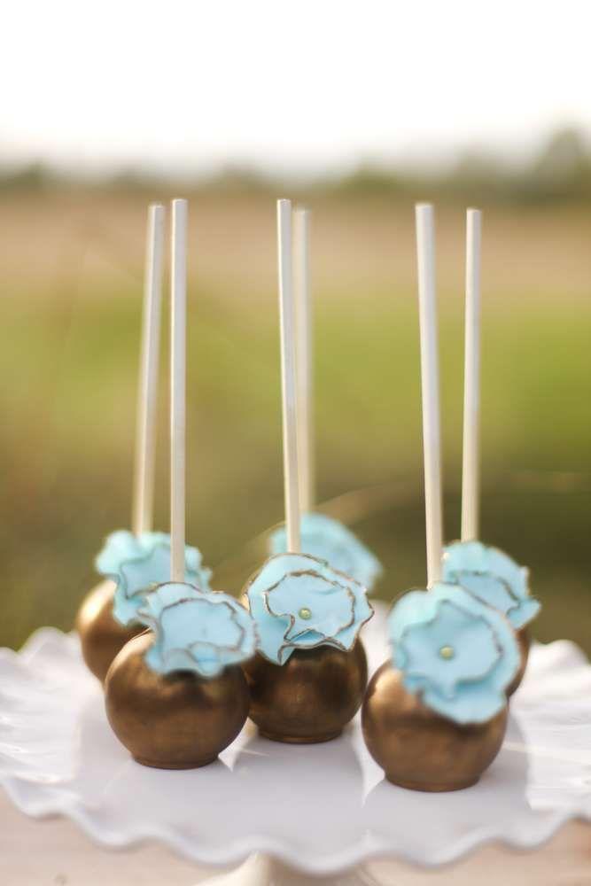 Vintage Wedding Party Ideas | Cake pop, Cake and Cakepops