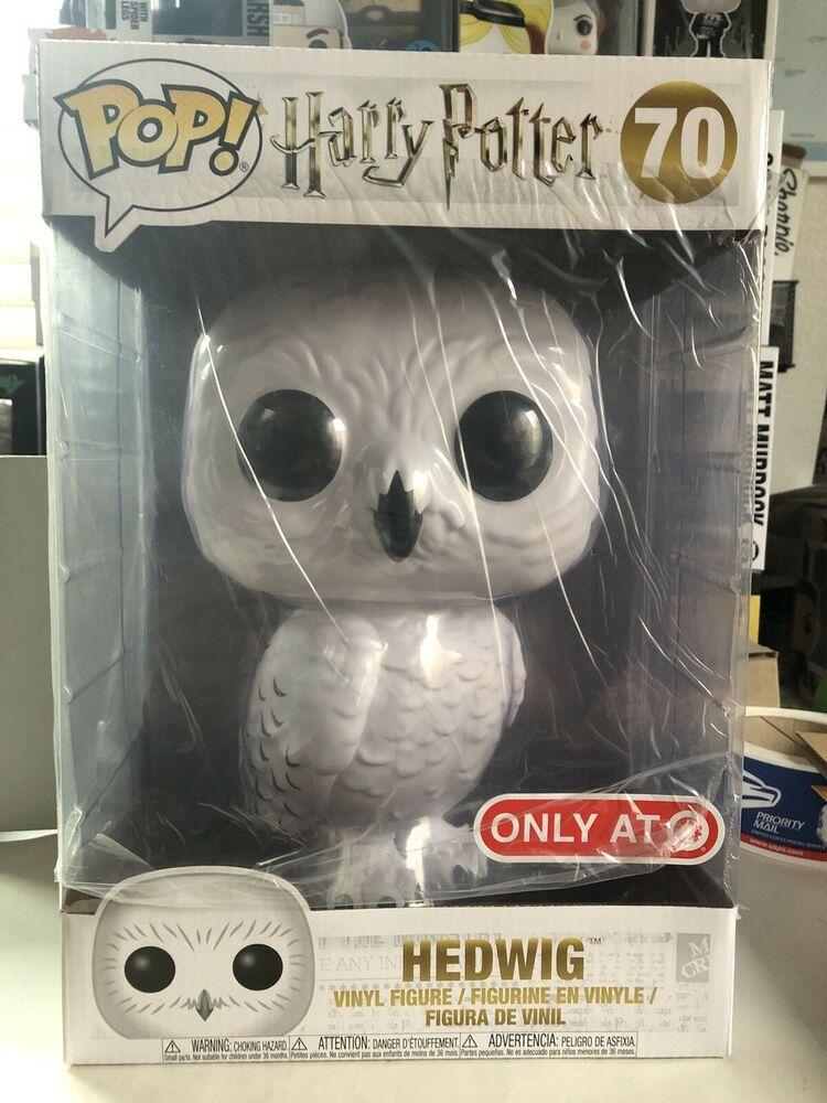 Funko Pop Harry Potter 10 Inch Hedwig 70 Target Exclusive Brand New In Hand Ebay Harry Potter Funko Pop Funko Pop Vinyl Rare Funko Pop