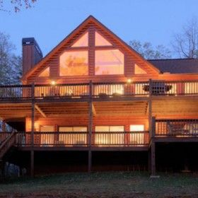 The Lakeview Retreat Is Located In Walnut Mountain On Lake Dakwa