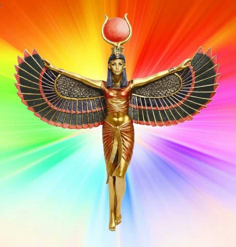 Ancient egyptian goddess isis
