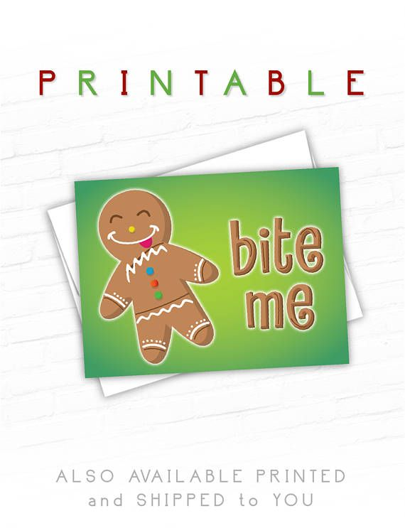 Funny christmas cards holiday greeting card gingerbread man discover ideas about funny christmas cards m4hsunfo