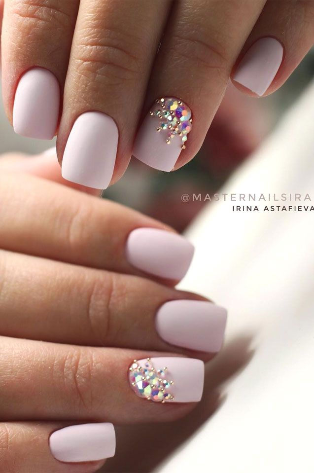 41 Best Wedding Nail Ideas For Elegant Brides Bride Nails Short Acrylic Nails Designs White Acrylic Nails