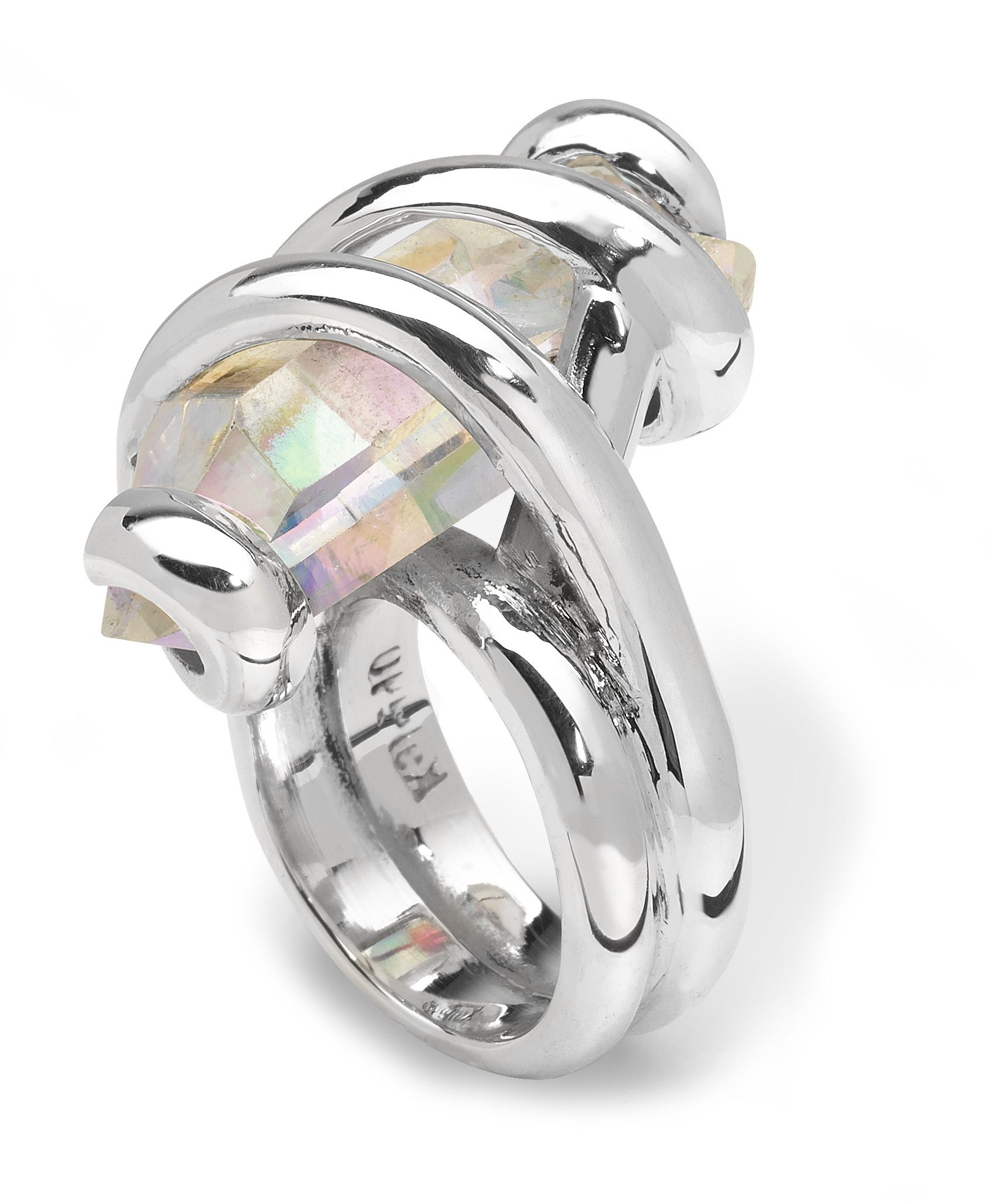 A beautiful 'Opal' crystal rock ring from Kaleido, so sad i lost my one :-(