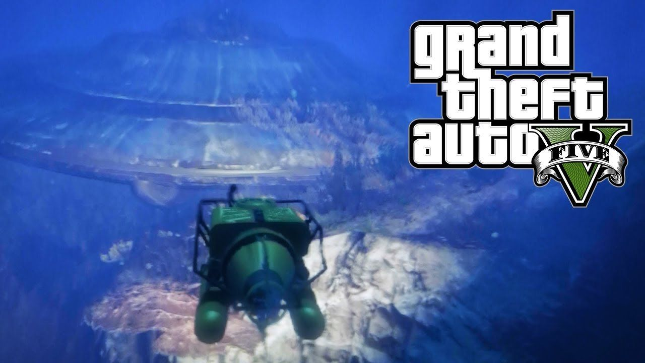 This GTA V Deep Sea Video Is Awesome