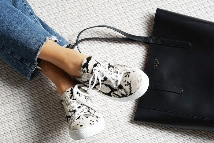 Pony hair sneakers & classic tote - My Dubio