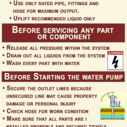 Nowadays, a water pump is playing an important role in our daily life. Most of the families have water pumps at their home but they do not aware about the installation and repair of these pumps with safety. Here Pumpkart.com is sharing some general safety guidance on water pumps installation, operation and repair. Pumpkart is a very reliable online shopping portal in India that offers huge range of water pumps that are used for different applications.