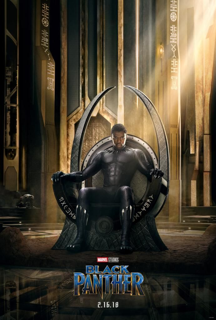 Chadwick Boseman Sits In First Official Poster For Marvel S Black Panther Black Panther Movie Poster Black Panther Marvel Black Panther