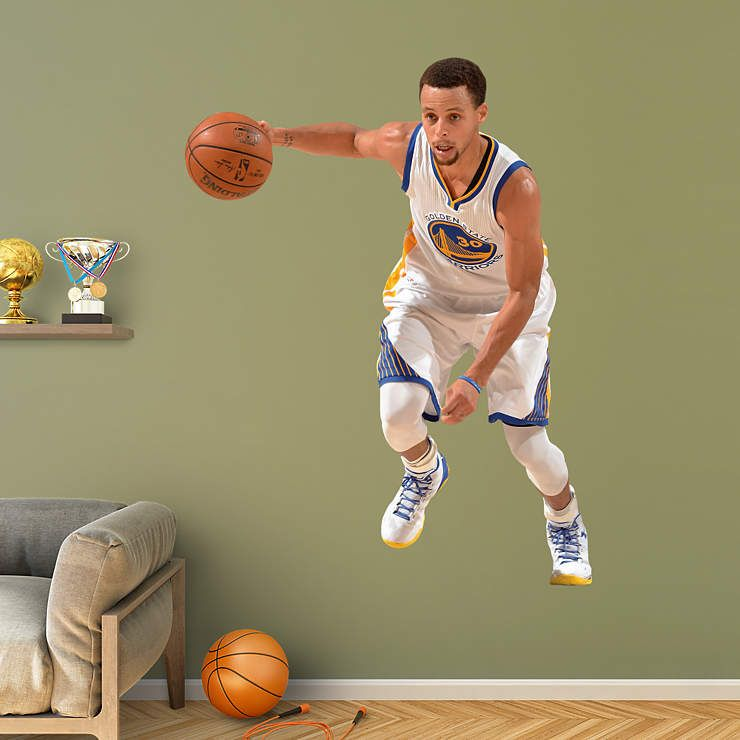 dafb6ab1739f Stephen Curry - No. 30 Fathead Wall Decal